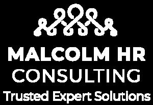 Malcolm HR Logo in white